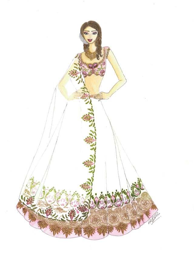 Indian Bridal Look Anushree Reddy At Lakme Fashion Week 2014 Whitecoral Studio