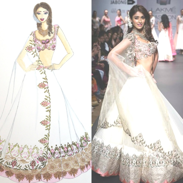 Anushree Reddy SR14 Show Stopper by Kophia